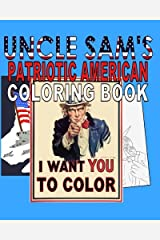 Uncle Sam's Patriotic American Coloring Book Paperback