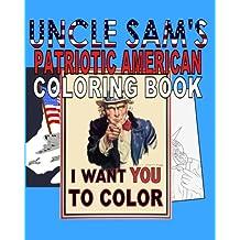 Uncle Sam's Patriotic American Coloring Book