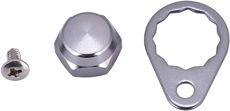 Fishing Reel Spool Nut Cap Screw Locking Plate Accessories For ABU//DAIWA
