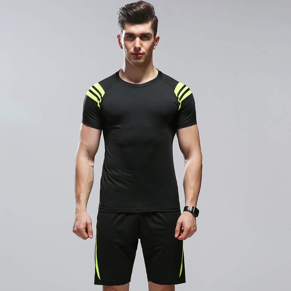 Men's Compression Shirt Suit Sport Laufkleidung schnell trocknende atmungsaktive Strumpfhose Trainingskleidung Trainingskleidung