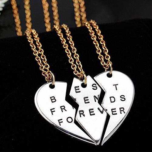 "ISHOW 3 Parts Broken Heart ""Best Friends Forever"" Bff Gift ..."