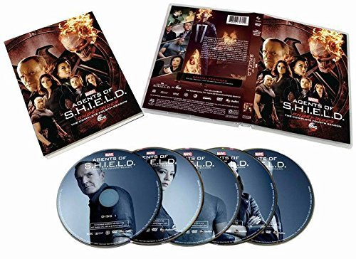 Season 4 Marvels Agents Of S.H.I.E.L.D (DVD,5-Disc Set) The Complete 4TH Season on DVD