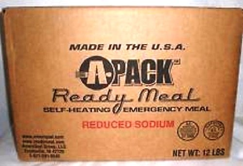 A-PACK-Ready-Meal-12-MRE-Kit-12-Full-Meals-REDUCED-SODIUM-Sealed