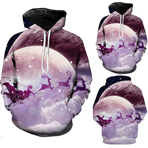 Pullover Gongzhumm Violet Hommes Sweater Noel Men's À Autumn Sweatshirt Sweats Noël Homme Pull Winter 29 Capuche Sweat qXxAAYEa