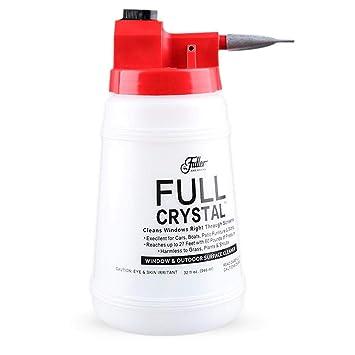 Eruditter regadera Limpiar plástico regadera Auto Lavado Spray Botella para la Limpieza rápida de Ventanas,