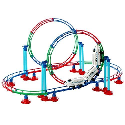 1:48 Space Futuron HyperLoop Transport System Bullet Train Set for Kids