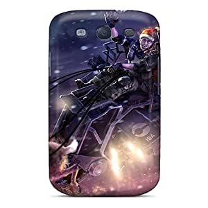 Galaxy S3 Cover Case - Eco-friendly Packaging(santa Reindeer)