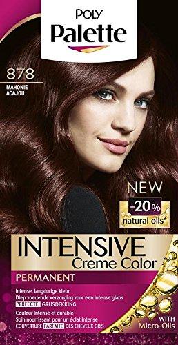 Coloration cheveux poly palette