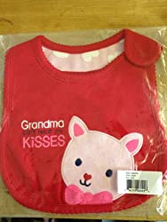 Carter's Just One You Grandma Can't Resist My Kisses Bib