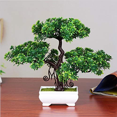 Bonsai Mini Creative Bonsai Tree Artificial Plant Decoration Not Faded No Watering Potted for Office Home