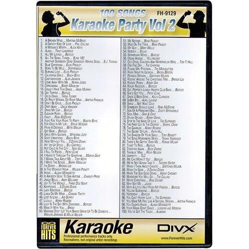 VocoPro KARAOKR PARTY SONGS (KARAOKEPARTYVOL2)