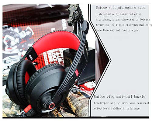 LILINA Bluetooth Headset Lightweight, Hi-Fi Stereo Wireless Headset, Foldable Headset, Built-In Microphone And Wired Mode, Esports Gaming Karaoke Headset Desktop Headset With Microphone,Gray by LILINA (Image #5)