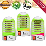 Bug Zapper Electronic Insect Killer,Mosquito Killer Lamp,Eliminates Most Flying Pests! (3P) (Green)