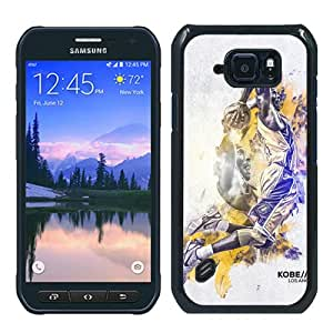 Hot Sale Samsung Galaxy S6 Active Case ,Unique And Durable Designed Case With Kobe Bryant (2) black Samsung Galaxy S6 Active Cover Phone Case