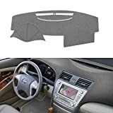SAILEAD Car Dashboard Carpet,Dash Board Cover Mat Fit for Toyota Camry 2007,2008,2009,2010,2011 (Gray)