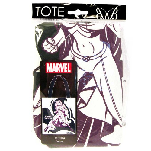 Forma Retro Marvel Comics-Borsa per la spesa, in cotone, estivo