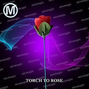 M is magic Magic Tricks torch to rose