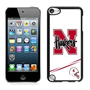 Special Custom iPod Touch 5 Case Ncaa Big Ten Conference Football Nebraska Cornhuskers 10 Black Personalized Picture iPod Touch 5 Phone Case