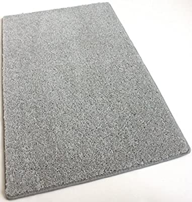 "Area Rug Carpet. GRANDMA'S SILVER HAIR GREY 30 oz. ½"" Thick. 100% Polyester fiber, Medium Density, Soft and Durable. MULTIPLE SIZES, SHAPES and Brilliant Colors."