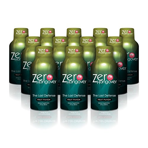 Zero Hangover Fruit Punch - Proven Hangover Prevention Shot (12)