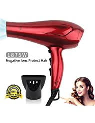JINRI Hair Dryers Professional Blow Dryer 1875w Powerful...