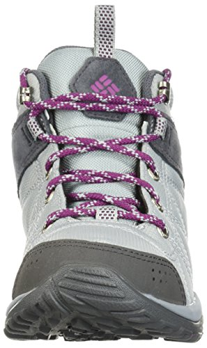 Columbia Women's Fire Venture Mid Textile Hiking Boot, Earl Grey, Dark Raspberry, 11 Regular US by Columbia (Image #3)