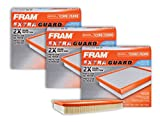 FRAM CA4309 Extra Guard Rigid Panel Air Filter (3 Pack)