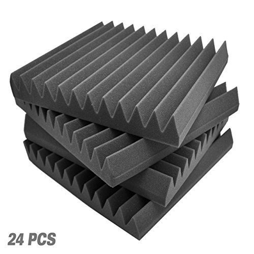 Pyle 24 Pack Acoustic Soundproofing