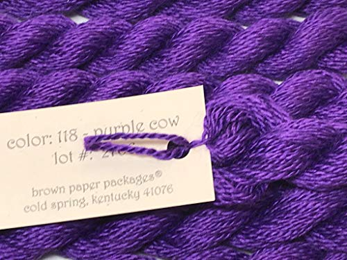 SILK & IVORY-Purple COW-118-1 SKEINS with This Listing