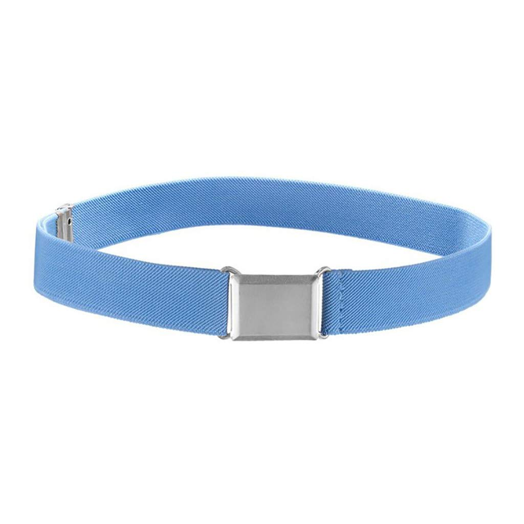 HAPIGOOD Kids Toddler Adjustable Elastic Belt with Easy Magnetic Buckle (N)