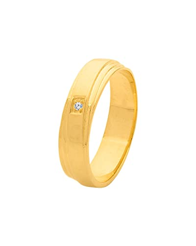 Buy Valentine Gift Dare By Voylla Stylish Gold Plated Ring from