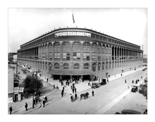 (Ebbets Field Brooklyn NY 1912 - 14x18 - Print without Frame)