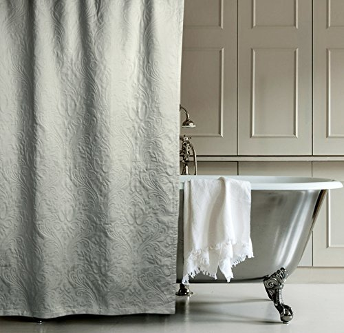 Matelasse Luxury Shower Curtain By Hotel Collection 100