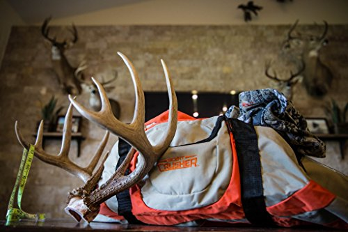 Scent Crusher Ozone Gear Bag, Duffle Bag, Eliminates Odor Before and After the Hunt, 33.5'' L x 15.7'' W x 13.3''H by Scent Crusher (Image #6)