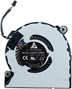 Rangale CPU Cooling Fan Replacement for HP Elitebook 720 G1 720 G2 820 G1 820 G2 Series Laptop Cooler 780895-001 730547-001 6033B0033301 KSB0405HBA02 DFS401505M10T 4Pins
