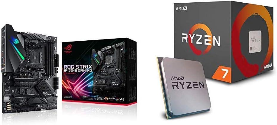 Pack Placa Base ASUS y Procesador AMD:ROG Strix B450-E Gaming y AMD Ryzen 7 2700X: Amazon.es: Informática