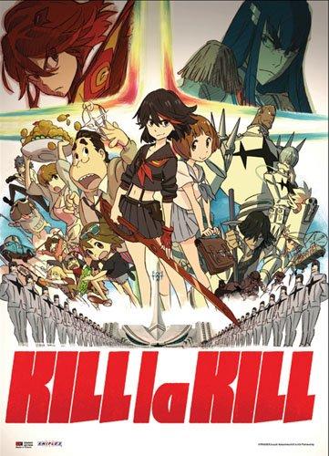 Great Eastern Kill La Kill Group Fabric Scroll Poster