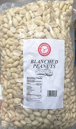 10 lb. Unsalted peanuts, raw, vacuum packed freshnes, great for peanut butter, brittle, snacks! Skinned and shelled so weight is only in peanuts not what you throw (Raw Peanuts)