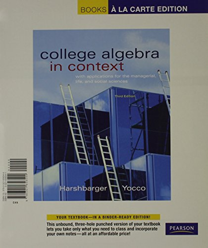 college mathematics for the managerial life and social sciences pdf