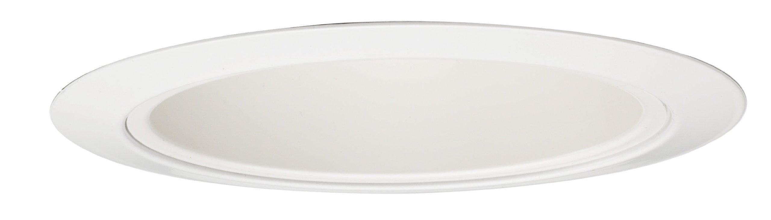 Juno Lighting 216HZ-WH 5-Inch Downlight Cone Haze with White Trim