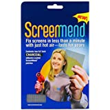 "Window Screen Repair Kit, 5"" x 7"" Patch, Charcoal"