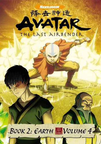 DVD : Avatar The Last Airbender - Book 2 - Earth - Volume 4