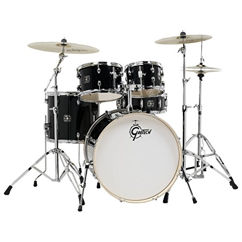 Gretsch Energy 5-Piece Drum Kit with Full Hardware Package & Zildjian ()
