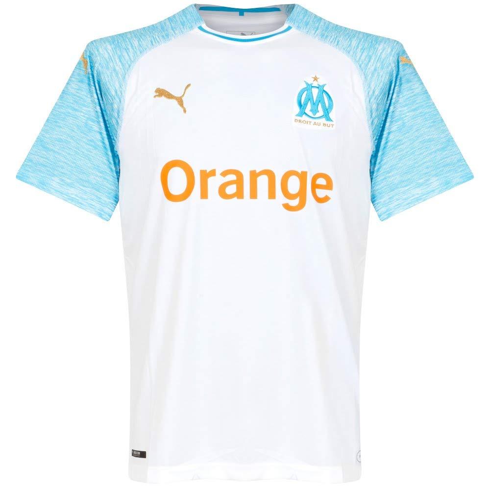 Puma Olympique de Marseille Home Maillots  Amazon.fr  Sports et Loisirs 6c37e12e9130