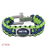 Seattle Seahawks Paracord Bracelet w/ GIFT BOX!!