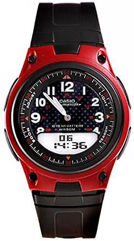 Casio General Men s Watches Digital-Analog Combination with 10 Year Battery Life AW-80-4BVDF – WW