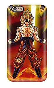 Best Premium Dbz Goku Back Cover Snap On Case For Iphone 6