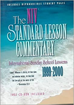 Standard Lesson Commentary: New International Version (Standard Lesson Commentary: NIV)