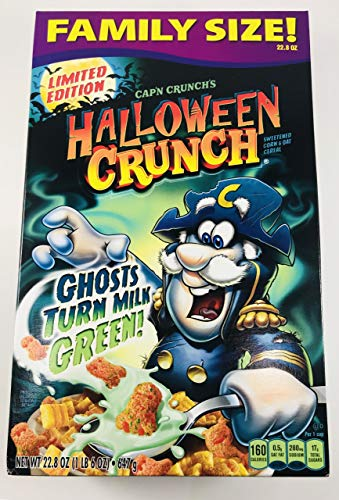 Limited Edition Halloween Food (Halloween Crunch | Ghosts that turn Milk Green | Tricks & Treats Puzzle | Family)