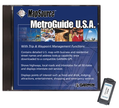 Garmin MetroGuide CD ROM North America v6